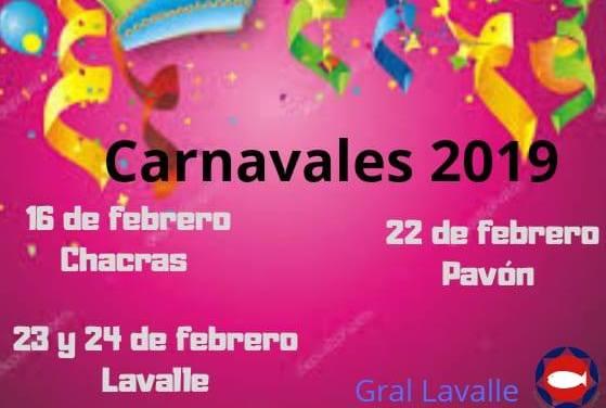 Ya comenzó el Carnaval 2019