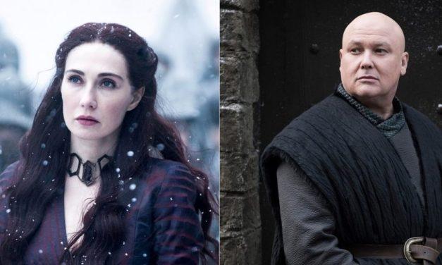 """Entrevista en Londres  """"Game of Thrones"""": mano a mano con Varys y Melisandre"""