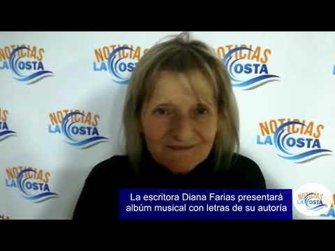 """Diana Farias presentó """"Mis poesías hechas canción"""""""