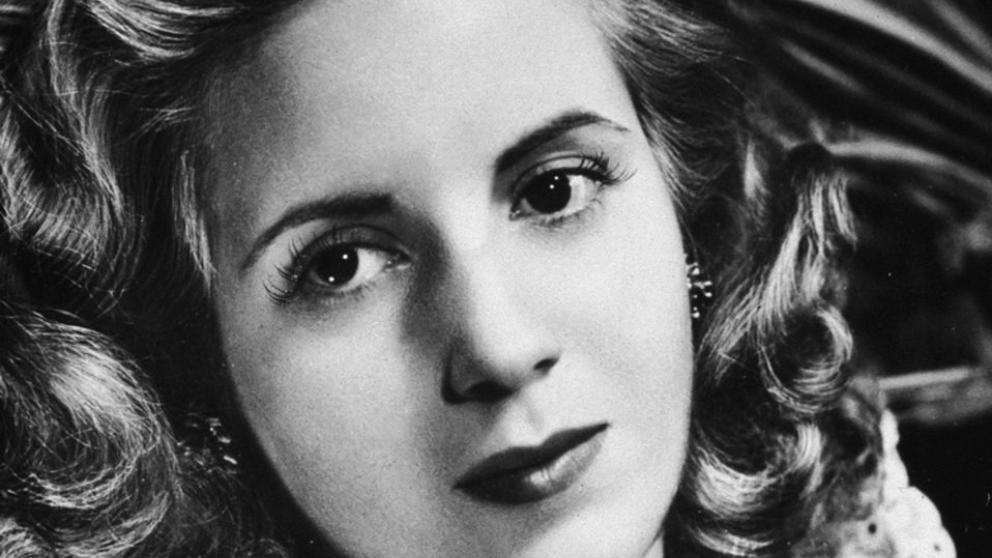 Maravillosa y simplemente, Evita