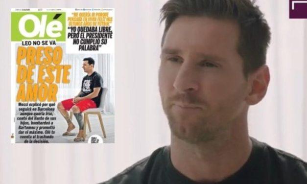 MESSI  El Backstage: Messi atrapado en el Barcelona