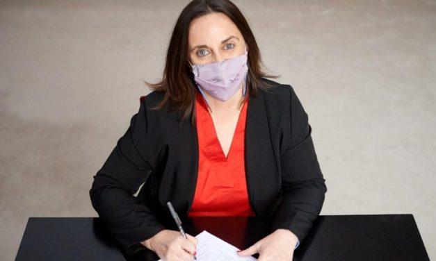 """Marcela Passo, precandidata a diputada por la Provincia: """"Ahora tenemos que pensar en alivios para las pymes»"""
