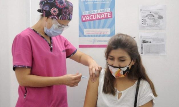 A partir de hoy, vacunación libre para mayores de 18 años residentes de Lavalle Desde hoy miércoles podrán recibir la primera dosis sin turno previo en el Polideportivo Guillermo Aguirrezabala, ubicado en Avenida Mitre N°1315.