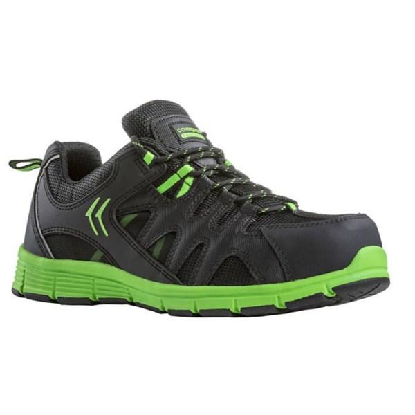 Zaštitna cipela niska MOVE S3 zelena 9MOVL