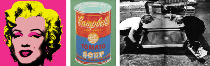 Famous Painting Andy Warhol Campbell Soup Can