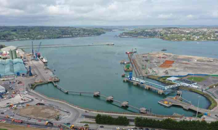 Port of Cork gains new ro-ro service to Zeebrugge | Container Management