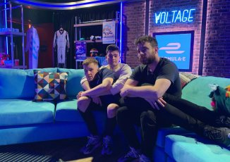 Will Lenney appears on Formula E Voltage Show