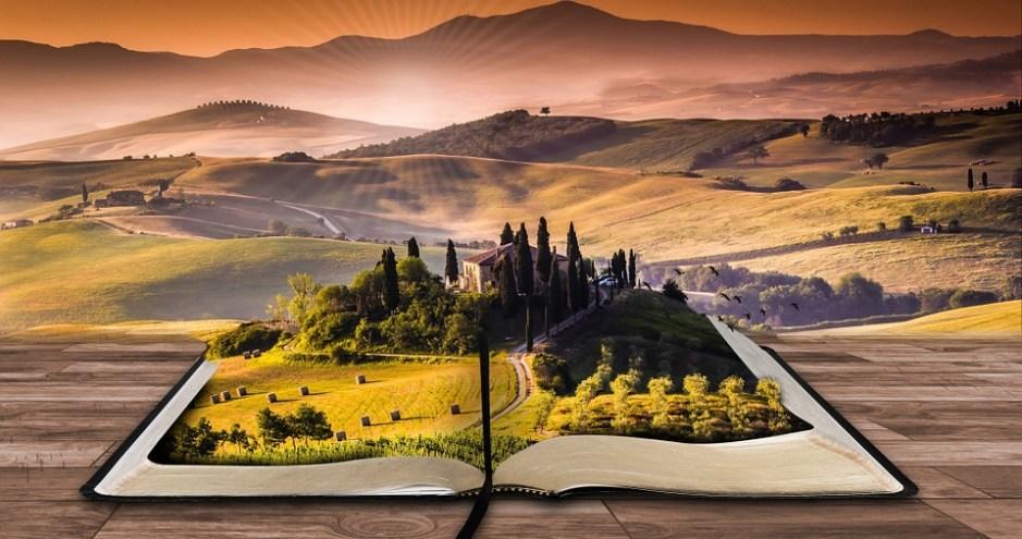 Um cenário rural sai das páginas de um livro