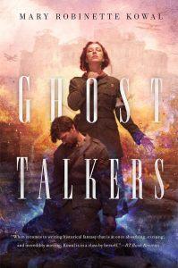 Capa do livro Ghost Talkers, de Mary Robinette Kowal
