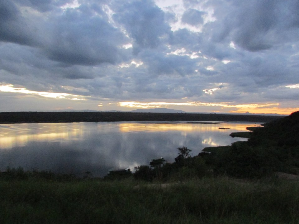 Sunrise over Kazinga Channel