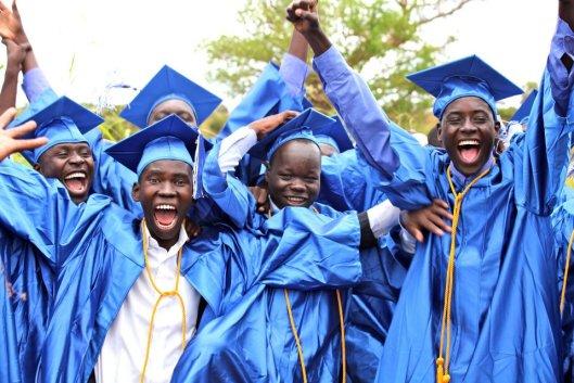 Graduation at Restore International school