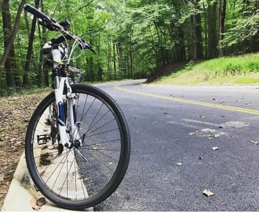 Biking Rock Creek Park