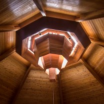 The skylight in our rotunda gives exquisite lighting throughout the day.