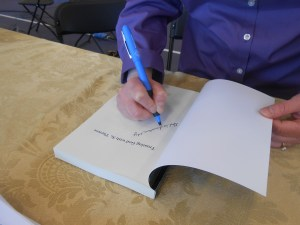 Signing Trusting God with St. Therese
