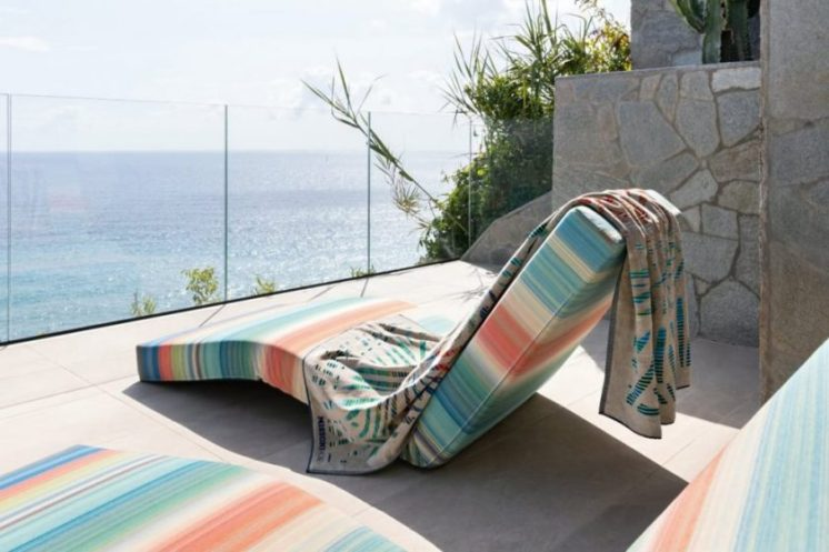 Missoni Home, une collection de serviettes outdoor