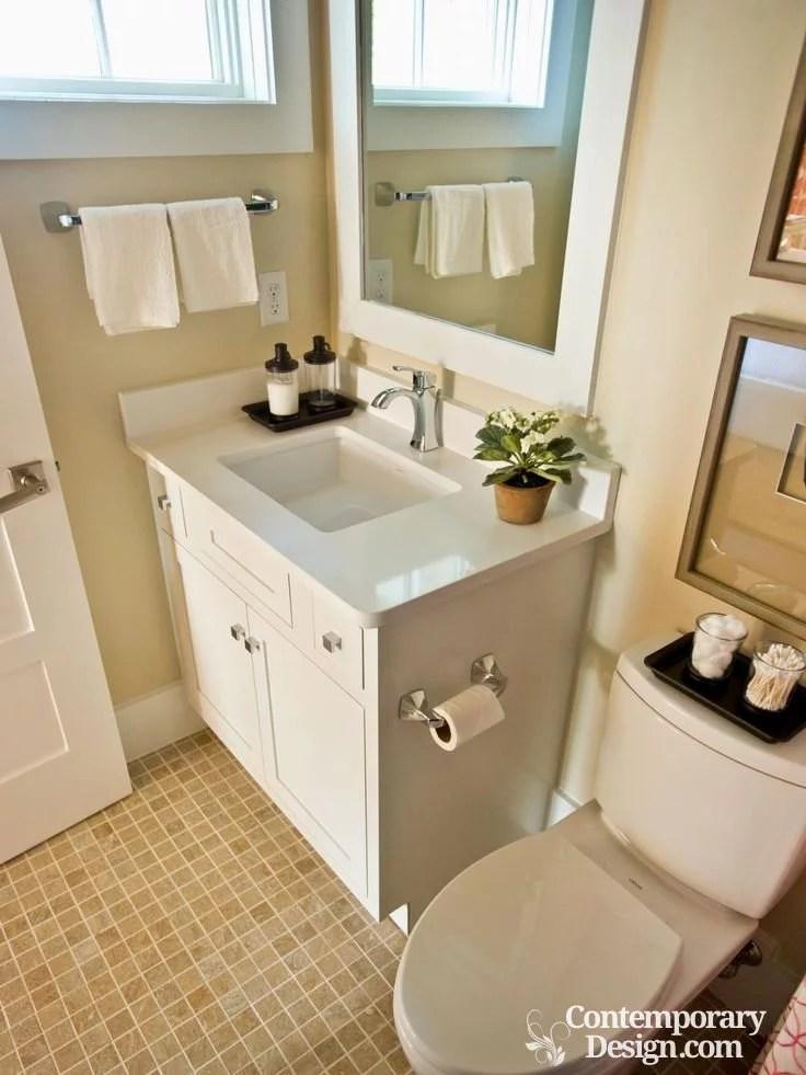 Grey Color Schemes For Small Bathrooms