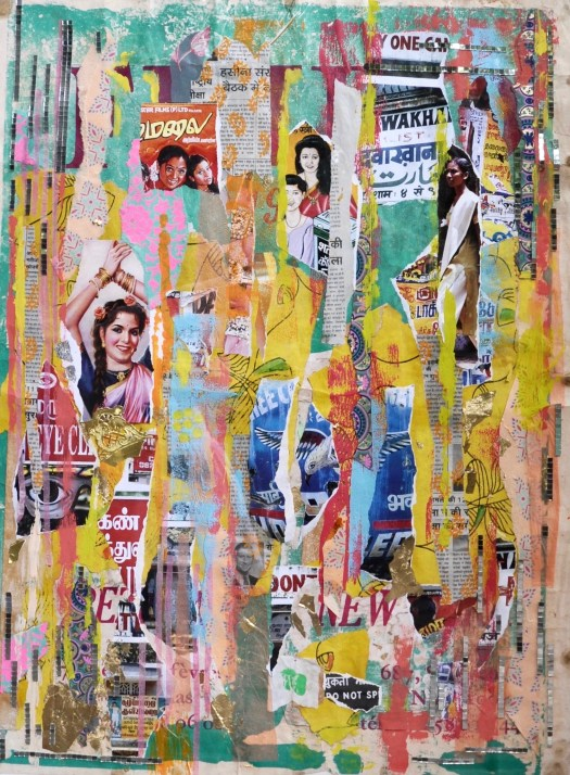 collage mixed media artwork