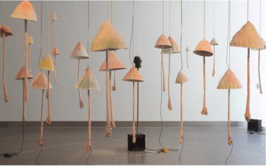 Mushroom Porcelain bells