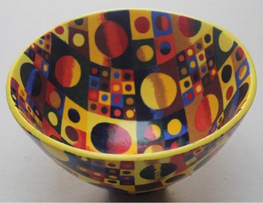 Ceramic art cake artworks