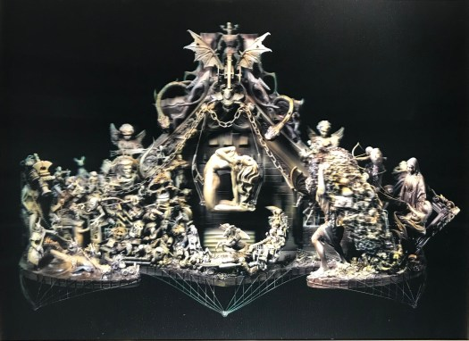 Lenticular 3D artwork cake