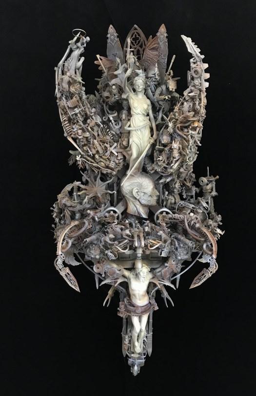 Artwork sculpture artist cake