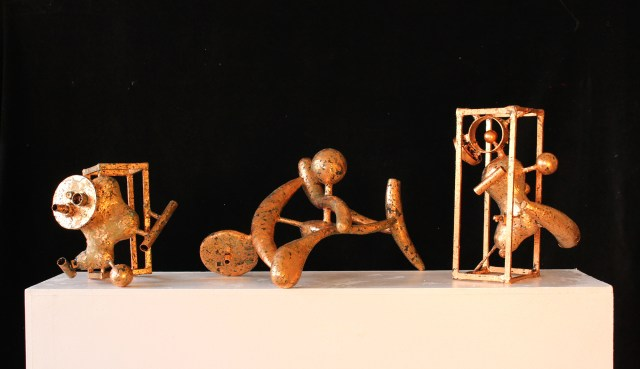 Sculpture artwork for sale in the art gallery