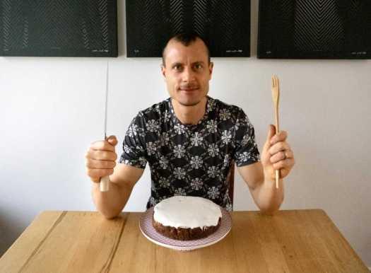 Tim Christie portrait in CAKE