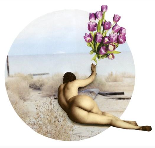 Daydreamer collage Anne Lacheiner-Kuhn in CAKE