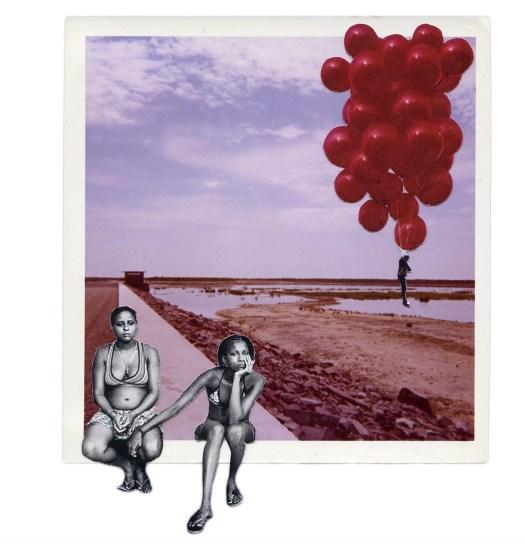 collage art Anne Lacheiner-Kuhn in CAKE