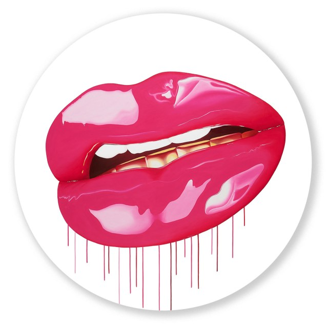 Modern Lips artwork by Sara Pope