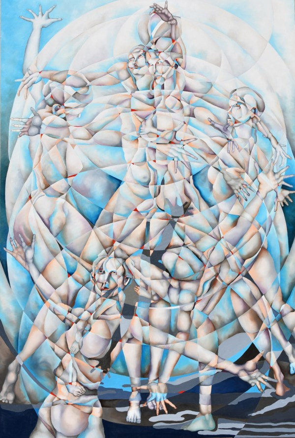 Broken Treaties. Oil on Masterpiece Elite Belgian Linen. 48 x 36 inches