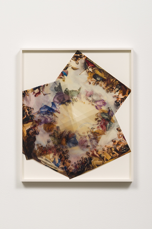 Dan Bayles, Apotheosis of Washington in 4 Flat Parts, (2015). Photo courtesy of François Ghebaly Gallery.