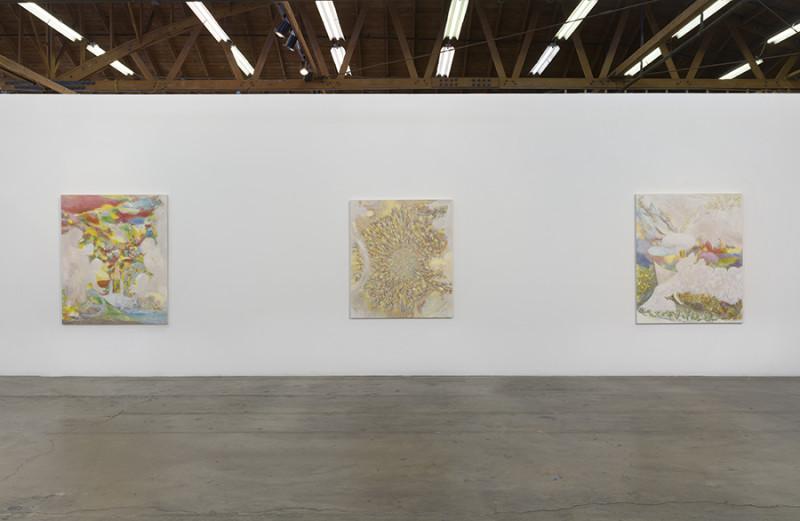 Dan Bayles, The Apotheosis of Washington, Installation View (2015). Photo courtesy of François Ghebaly Gallery