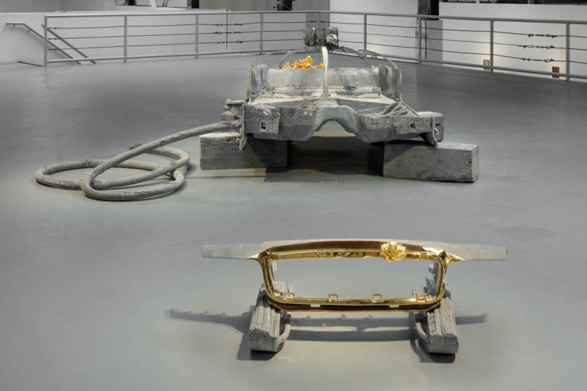 RIVER OF FUNDAMENT (installation view) (2015-2016). Image courtesy of The Museum of Contemporary Art, Los Angeles. Photo: Fredrik Nilsen.