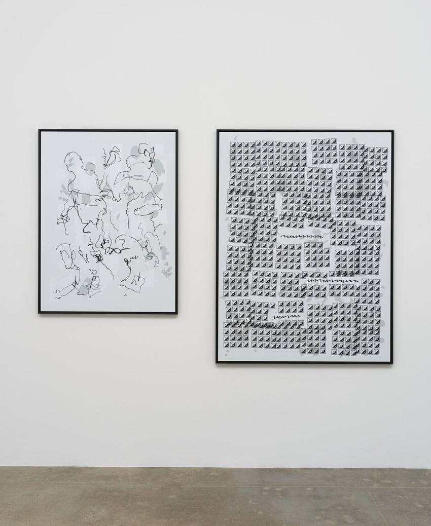 Michael Bell-Smith, The Diet (2016). Installation view. Image courtesy of the artist and Kayne Griffin Corcoran, Los Angeles. Image: Robert Wedemeyer.