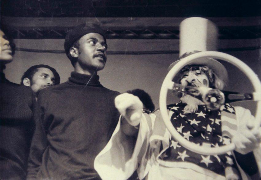 Bodacious Buggerrilla Performance, Los Angeles (1970). Performers: Ed Bereal, Cliff Porter, Nathan Ali. Image courtesy of Ed Bereal.