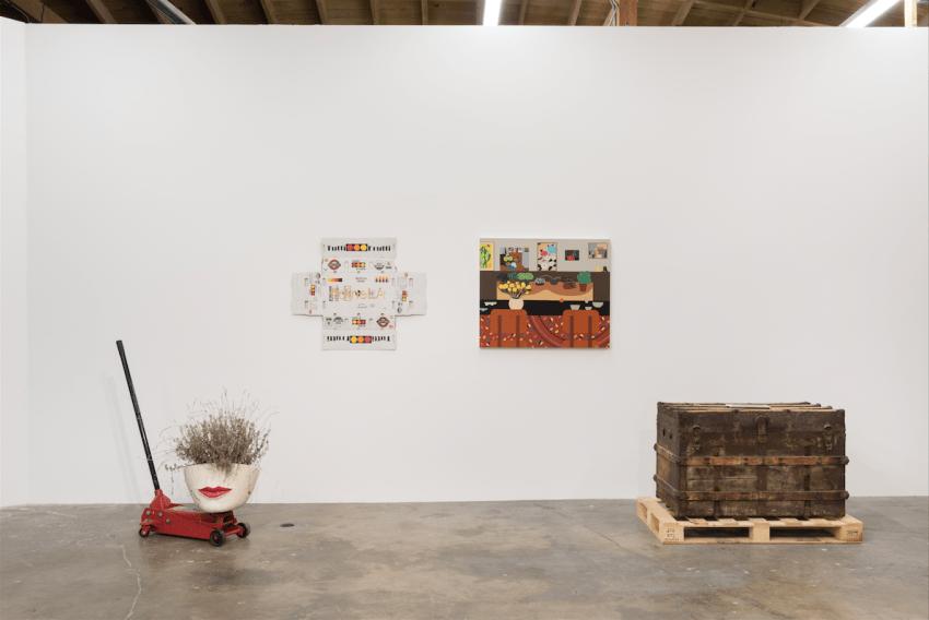 Walk Artisanal (installation view (2016). Image courtesy of the artists. Photo: Ruben Diaz.