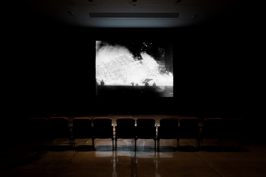 Bruce Conner, A Movie (1958). 12 minutes. Image courtesy of the artist and Kohn Gallery. Photo: Karl Puchlik.