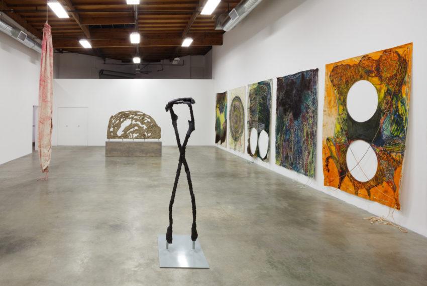 Naotaka Hiro: Peaking (installation view) (2016). Image courtesy of the artist and The Box, LA.