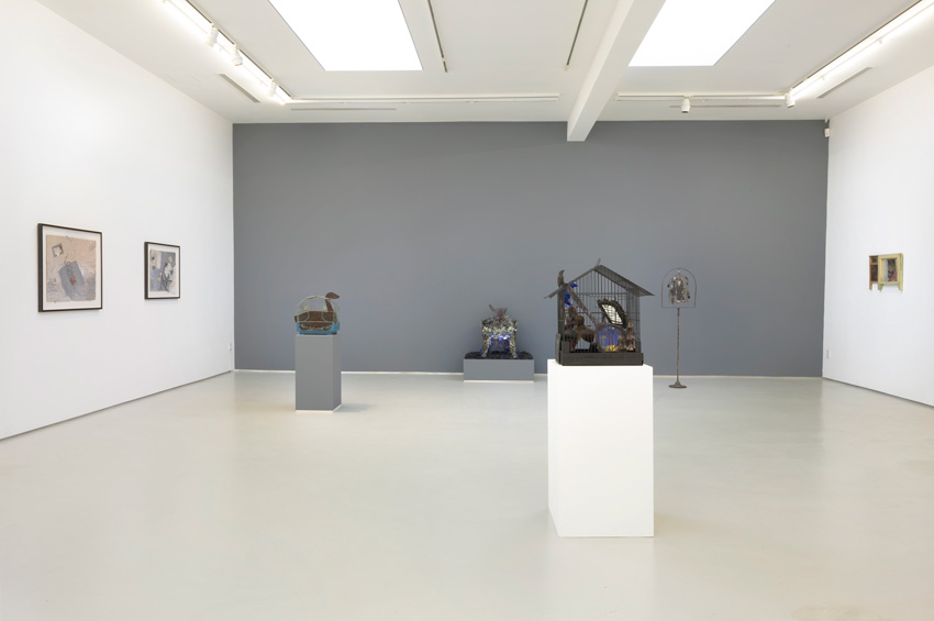 Betye Saar, Blend, Installation View. Image courtesy of the artist and Roberts & Tilton, Culver City, CA.