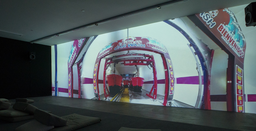 3.Jane the Baptist installation view Jesse Fleming Five Car Garage