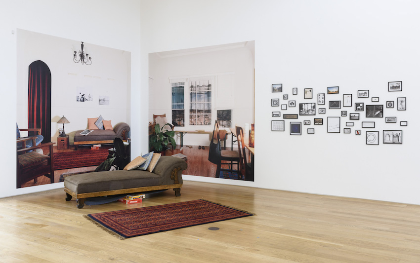 8 Minute Hd Video Loop, 28 Inkjet Photographs, 2 Inkjet Mural Photographs,  Furniture, Dimensions Variable. Image Courtesy Of The Artist And Samuel  Freeman.