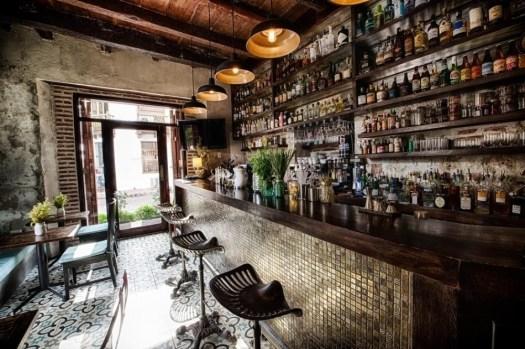 Cocktails at El Baron, Cartagena
