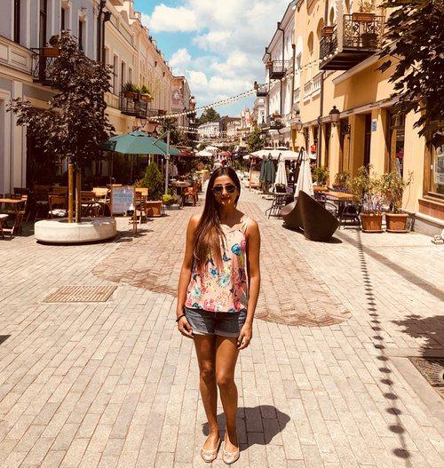 Girl gone global - Priya Patel in Tbilisi, Georgia