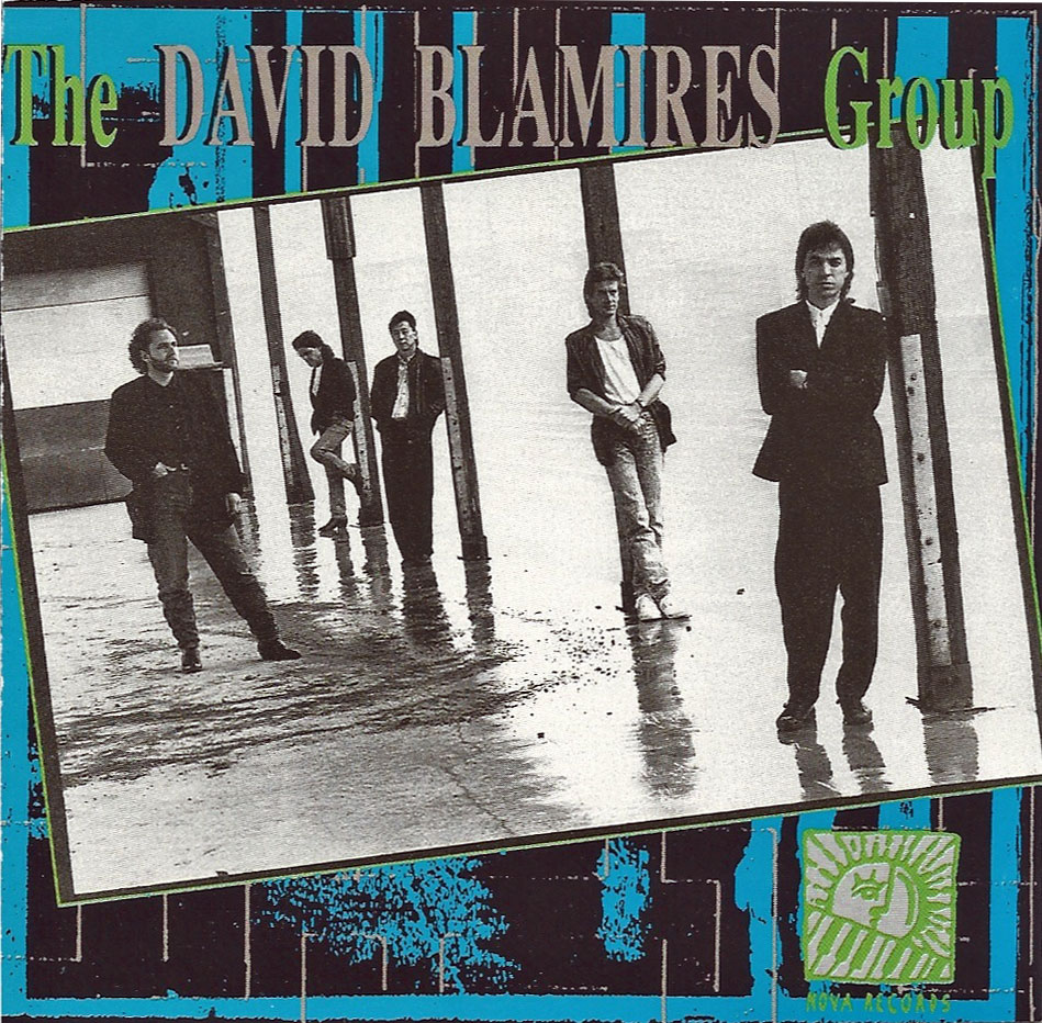 cover to the David Blamires Group 1990 recording