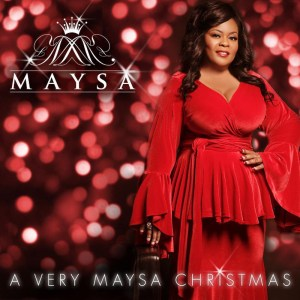 A Very Maysa Christmas album cover from 2014