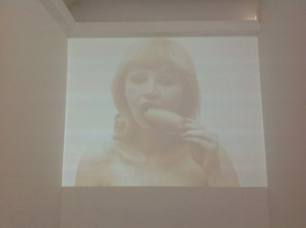 "Natalia LL, from the series Consumer Art, Natalia LL ""The Grammar of The Body"", UPP Gallery in Venice, photo Lynx"