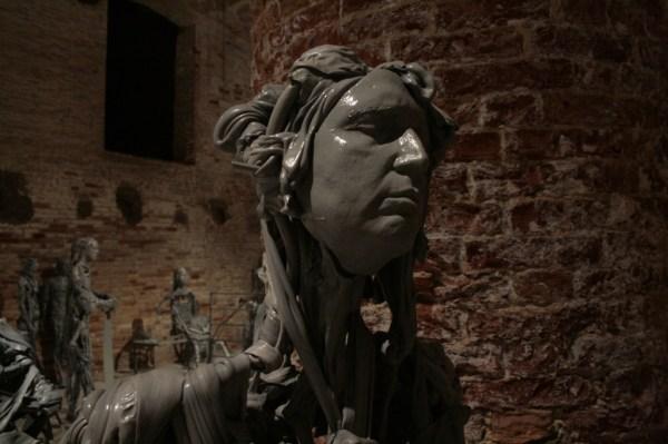 Paweł Althamer, Venetians, 2013, Il Palazzo Enciclopedico, Arsenale, Venice Biennale 2013, photo Lynx