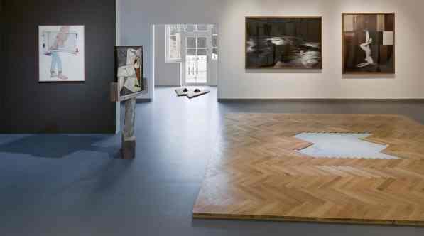 Display view of an exhibition Jak się staje, kim się jest, 2013, photo Daniel Rumiancew, from the archive of BWA in Tarnów