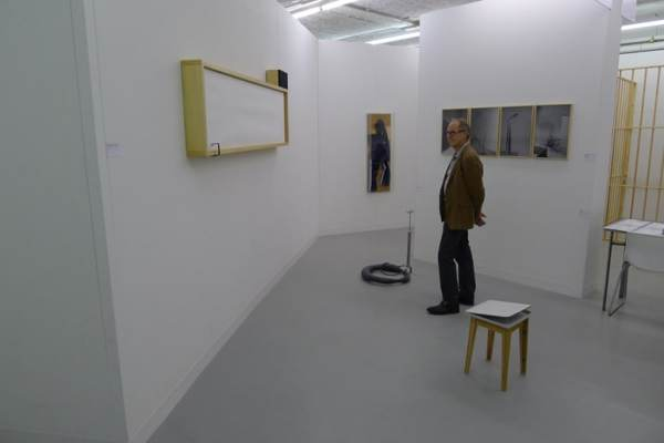 Gizela Mickiewicz, Piotr Łakomy, Mateusz Sadowski, Stereo, booth -1/2/4, photo Andrzej Szczepaniak for Contemporary Lynx